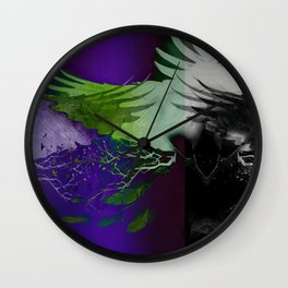 Darkness Wall Clock