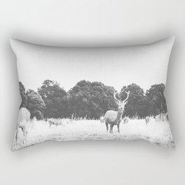 HELLO DEER IV Rectangular Pillow