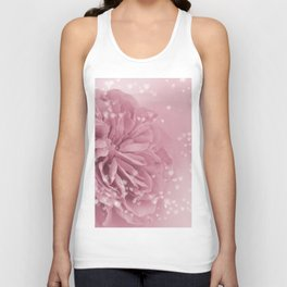 Light Pink Rose with hearts #1 #floral #art #society6 Unisex Tank Top