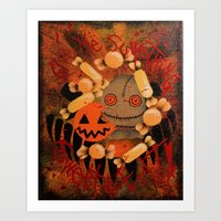 Trick r' Treat Art Print