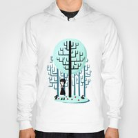snow white Hoodies featuring Snow White by Freeminds