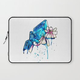WILTED CRYSTALS Laptop Sleeve