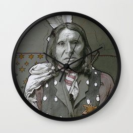 Good-Voiced Crow Wall Clock