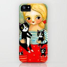Pockets full of Kittens! iPhone Case