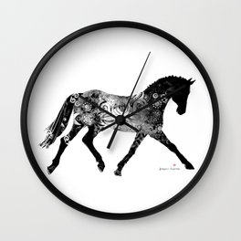 Horse (Noblesse oblige) Wall Clock