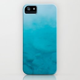 Sapphire Pool. Yellowstone National Park. Wyoming. USA. iPhone Case