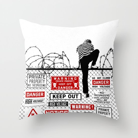 Invitation Throw Pillow