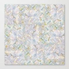 woven seashells Canvas Print