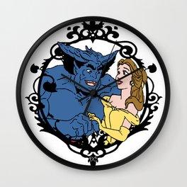 Beauty and Beast Wall Clock