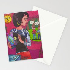 Disco Girl Stationery Cards