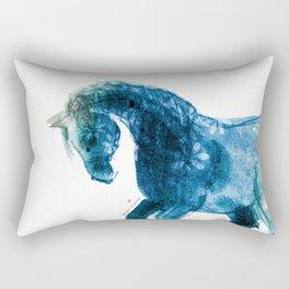 Horse (Meadow 2) Rectangular Pillow