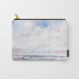 Beginnings - Pastel Moody Seascape Carry-All Pouch