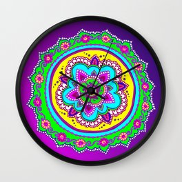 Morning Bollywood Wall Clock