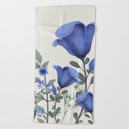 Flowers -a6 Beach Towel