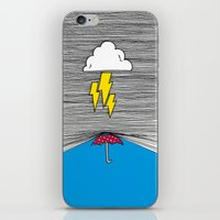 shield iPhone & iPod Skins featuring Shield by Prince Arora