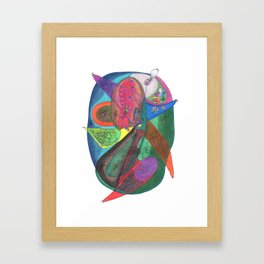 Drawing #63 Framed Art Print