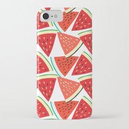 Sliced Watermelon iPhone Case