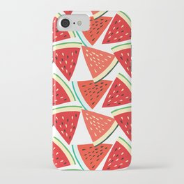 Sliced Watermelon iPhone Case