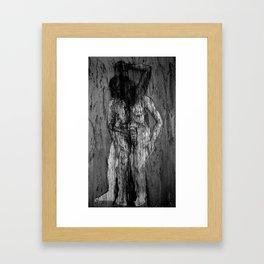 Magdalena IV (las penas los gozos del mundo) Framed Art Print