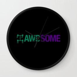 AWDSOME v6 HQvector Wall Clock