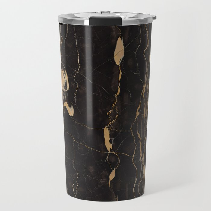 Real Marble Oro Travel Mug