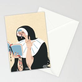 Sweet nun Stationery Cards