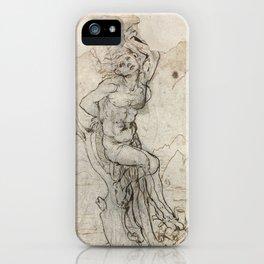 Art by Leonardo Da Vinci iPhone Case