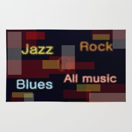ALL MUSIC Rug