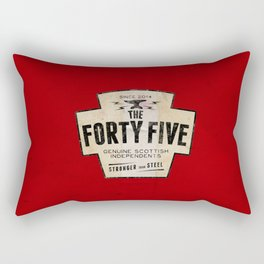 The Forty Five (45) Rectangular Pillow
