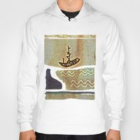 boat Hoodies featuring Boat by Menchulica