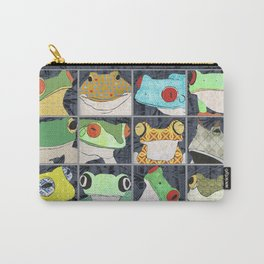 Frogs horizontal Carry-All Pouch