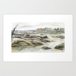 James River Art Print