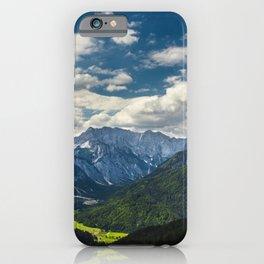 Stunning Julian alps iPhone Case