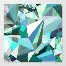 Colorflash 8 mint Canvas Print