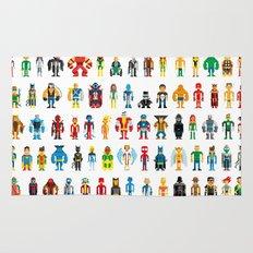 Pixel Heroes Rug