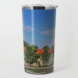 Lourdes University-  Mother Adelaide Hall Travel Mug
