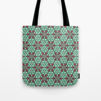 honeycomb Tote Bags featuring Honeycomb by Paula Belle Flores