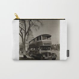 New York Vintage picture Bus (circa 1935) Carry-All Pouch