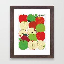 Apple Harvest Framed Art Print