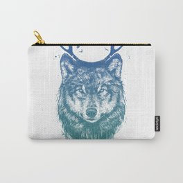 Deer wolf Carry-All Pouch