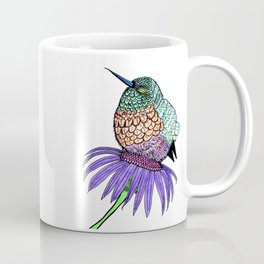 Fluffy Baby Hummingbird Coffee Mug