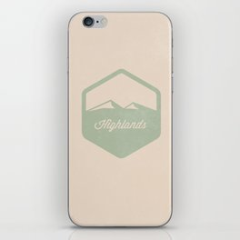 Highlands iPhone Skin