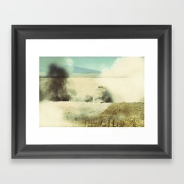 Bolivia/Peru Collaboration with Matt Shelley (Part one)  Framed Art Print