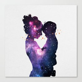 The first love. Canvas Print