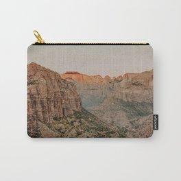 Zion National Park V / Utah Desert Carry-All Pouch
