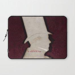 Robert Louis Stevenson, Dr. Jekyll and Mr. Hyde - Minimalist Literary Design Laptop Sleeve