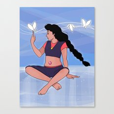 Here comes a thought - Stevonnie Canvas Print