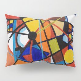 Lines and Circles Pillow Sham