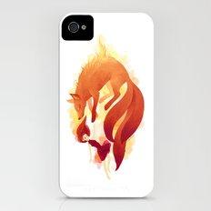 Fire Fox iPhone (4, 4s) Slim Case