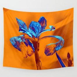 Glowing Iris... Wall Tapestry